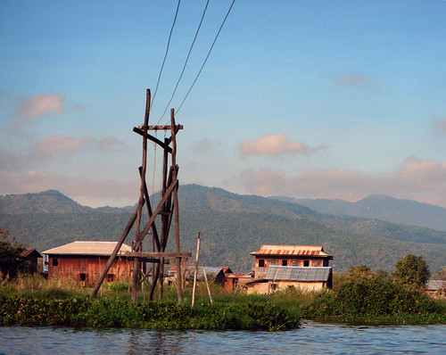 Inle Lake Powerlines