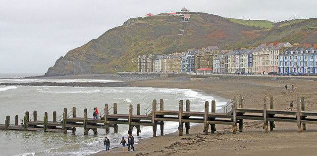 January the 1st at Aberystwyth Wales. New years day.