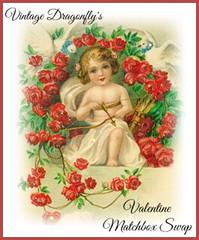 Valentine Matchbox Swap by Vintage Dragonfly