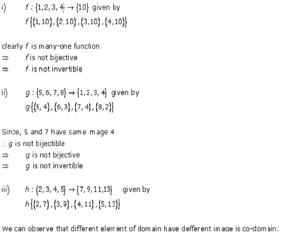 RD Sharma Class 12 Solutions Free online Chapter 2 Functions Ex2.5 Q1