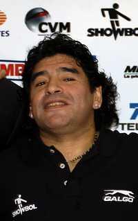Maradona, conmovido por el relato de los agentes cubanos liberados por EU