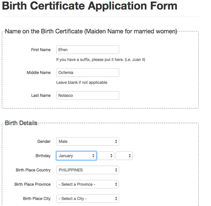 How to get NSO/PSA Certificate Online - Birth, Marriage, Death or ...
