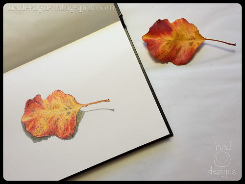 "Sketchbook : Week 2 : Colored Pencil : ""Blustery Day"""