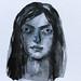 Watercolour in Payne's Grey by Heidi Burton / Making Strangers