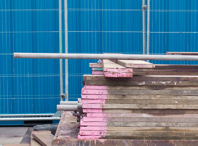 timber with pink tips