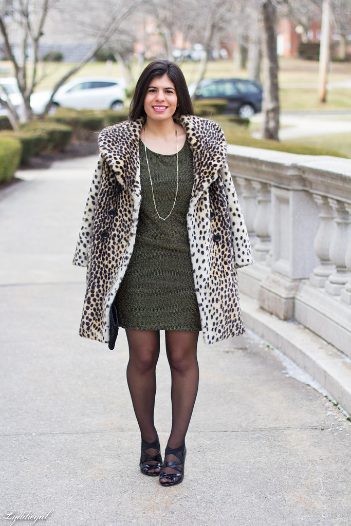 metallic bodycon dress, leopard coat-1.jpg