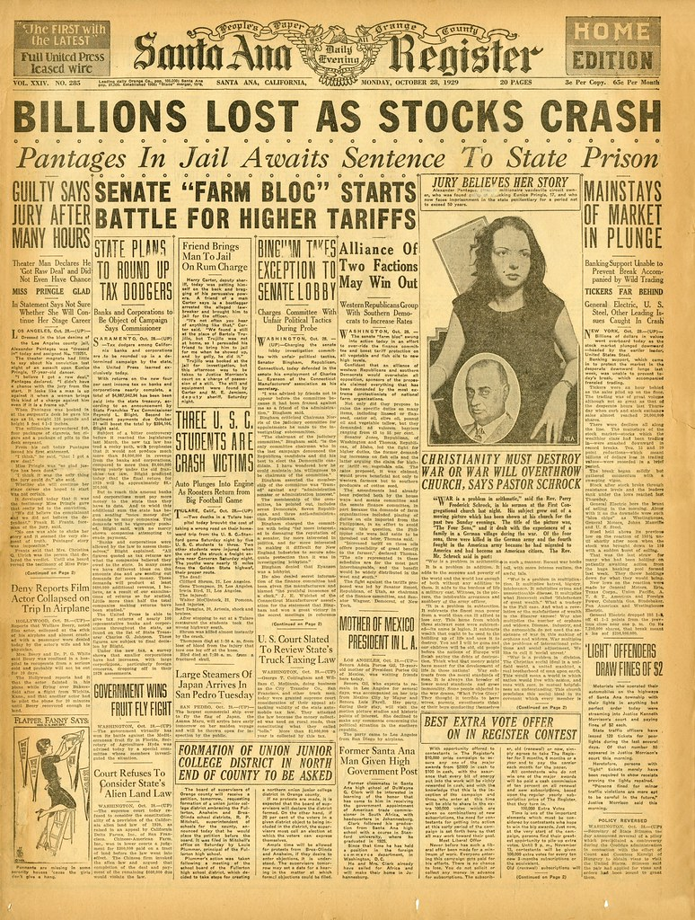 the causes and effects of the stock market crash of 1929 in the united states The causes of the 1929 crash while there have been many suggested explanations for the crash, no one can fully account for it here are some of the for example, the newly elected president of the united states, herbert hoover, publicly stated that stocks were overvalued and that speculation hurt.