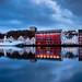 Stavanger at dawn.
