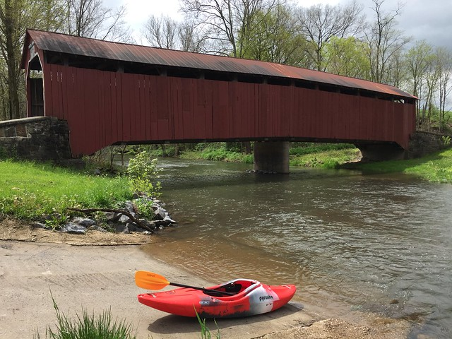 Kayaking Shermans Creek, May 7, 2016