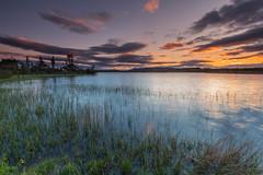 Loch Ashie Sunset ..