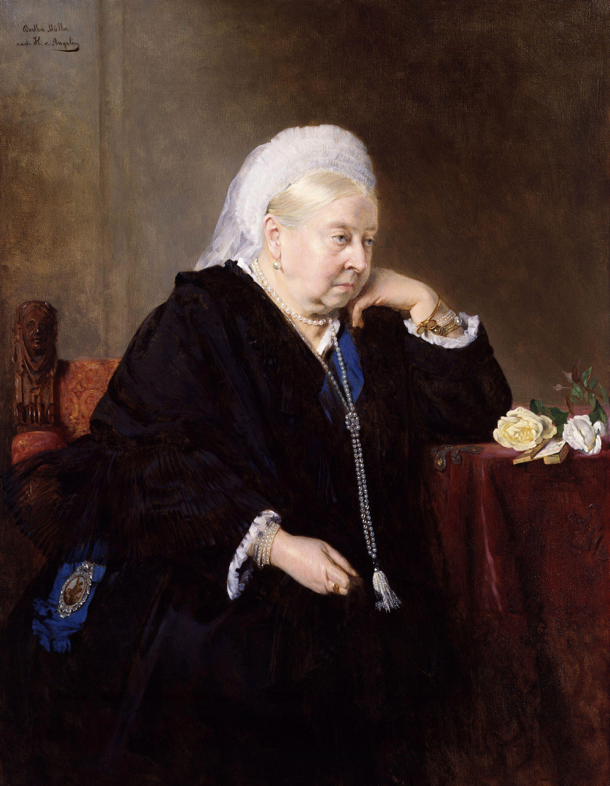 Queen Victoria, by Bertha Müller, 1899