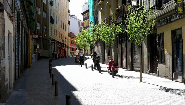 Calle Moratin, Madrid (2016)