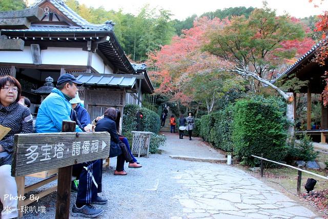 嵐山旅遊景點-常寂光寺28
