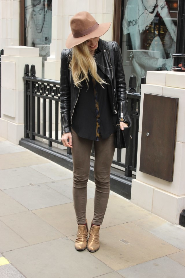 october outfit london