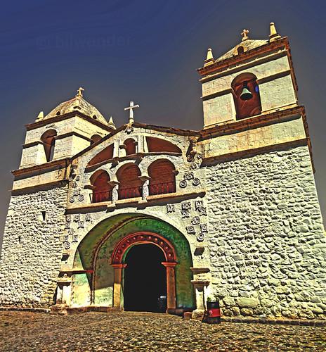 peru colca valley arequipa province maca iglesia santa ana ρeru solo travel bilwander