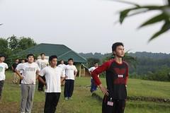 Kegiatan Rindam Jaya di Gunung Bunder untuk siswa laki-laki, 23-24 Oktober 2014