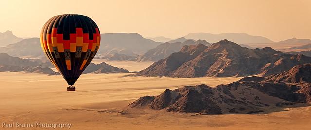 Namibian Balloon Landscape