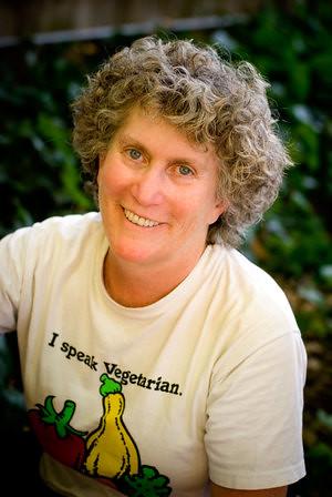 Patti courtesy of nevertoolatetogovegan.com