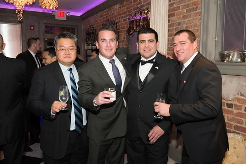 (From L-R) Washington Wholesale's David Kim, Greg Deboy, Oscar Molina and Nick Kohut.