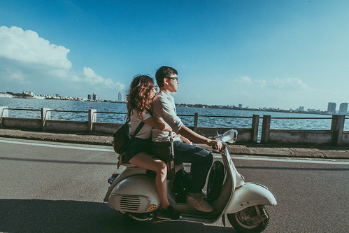 #vespa #couple