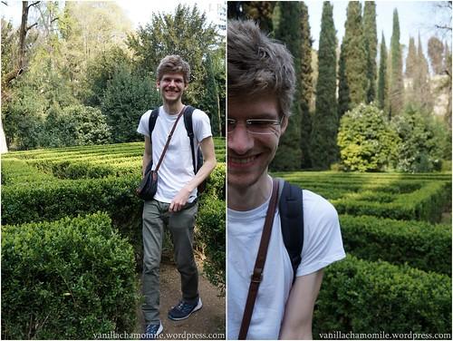 Terry // in Verona's giardino giusti