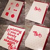 Still time for a letterpress present for your bike pals—you know, the peeps who don't really want a lot of stuff, but just want to go for a ride! The cards are a great way to say 'I want to ride bikes with you!' We'll be at #Phoestivus on Wednesday, you c