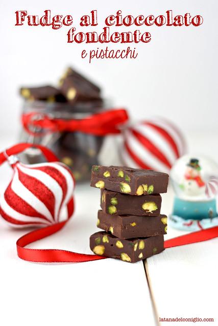 fudge al cioccolato fondente e pistacchi3