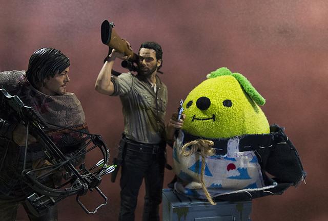 【玩具人胖胖投稿】Rick Grimes 瑞克警長10吋公仔開箱