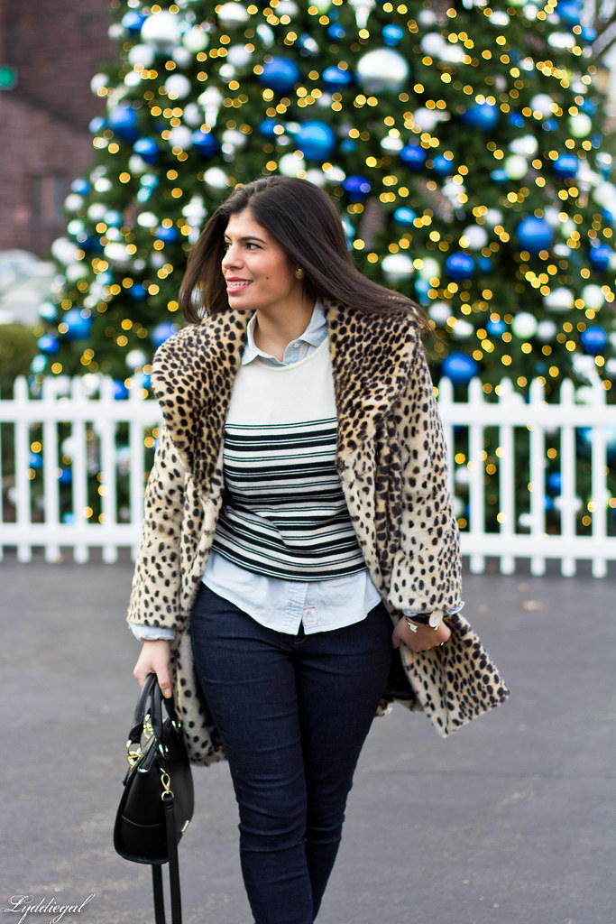 leopard coat, striped sweater, chambray-7.jpg
