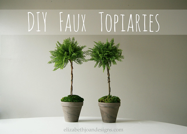 Faux Topiaries 1