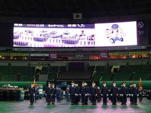 平成26年福岡県警年頭視閲式   ...