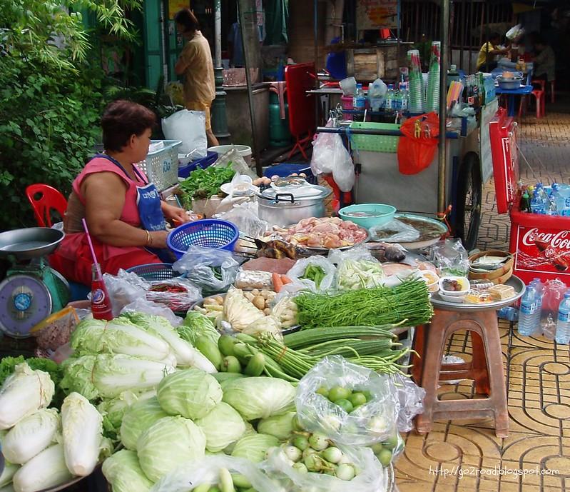 Городской рынок в Бангкоке
