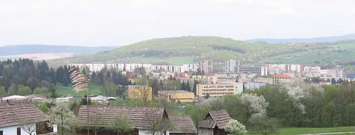 Панорама Свидника