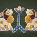 Unfug the Mammen Quadrupeds: Finished Stitching by Ragnvaeig