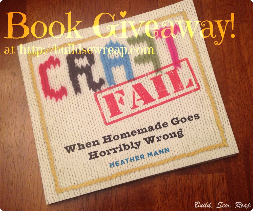 Craft Fail Book Giveaway 3