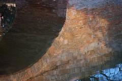 Le pont sous l'eau