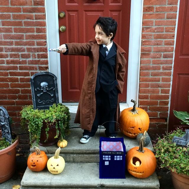 ✨Doctor Who ✨ #tobyisalwaysincostume #doctorwho #Halloweencostume