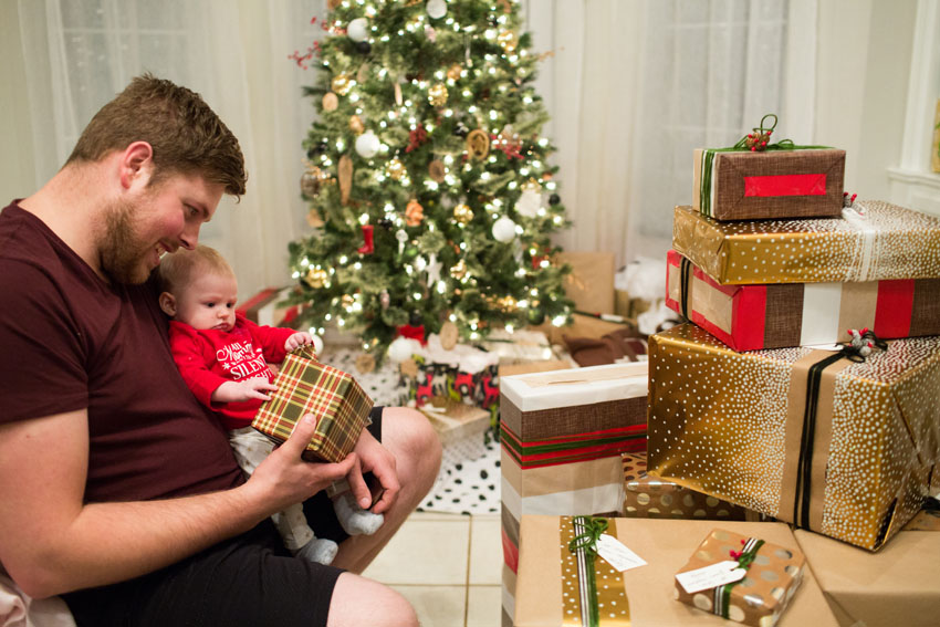 cora's first christmas | indiejane photography