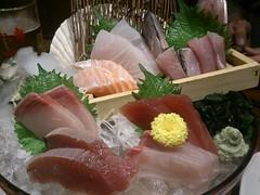 sashimi, fish, buffet, food, dish, cuisine,