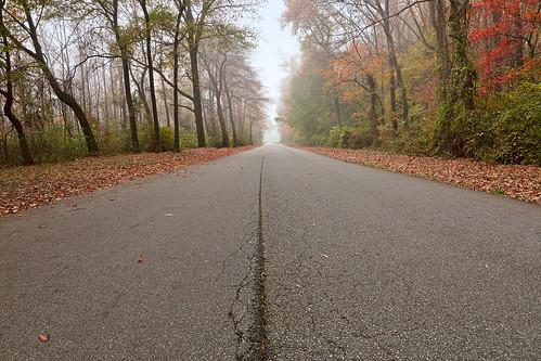 los lados del camino en américa