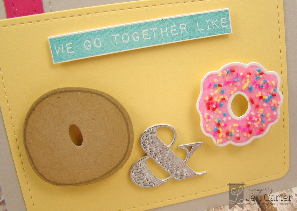 Jen Carter LID We Go Together Donut Icing Closeup