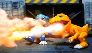 【玩具人Counter656投稿】數碼寶貝大戰停格動畫