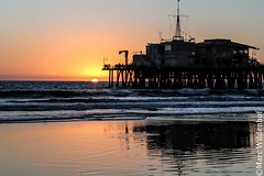 Santa Monica Beach / Los Angeles California
