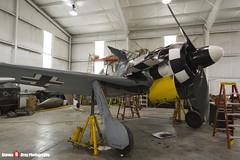 N447FW 550476 - 990002 - Flug Werk FW-190A-8 N - Tillamook Air Museum - Tillamook, Oregon - 131025 - Steven Gray - IMG_8079