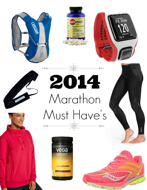 Marathon Training Must Haves