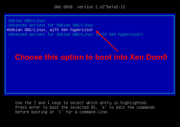 How to install Xen hypervisor on unused old hardware - Xmodulo