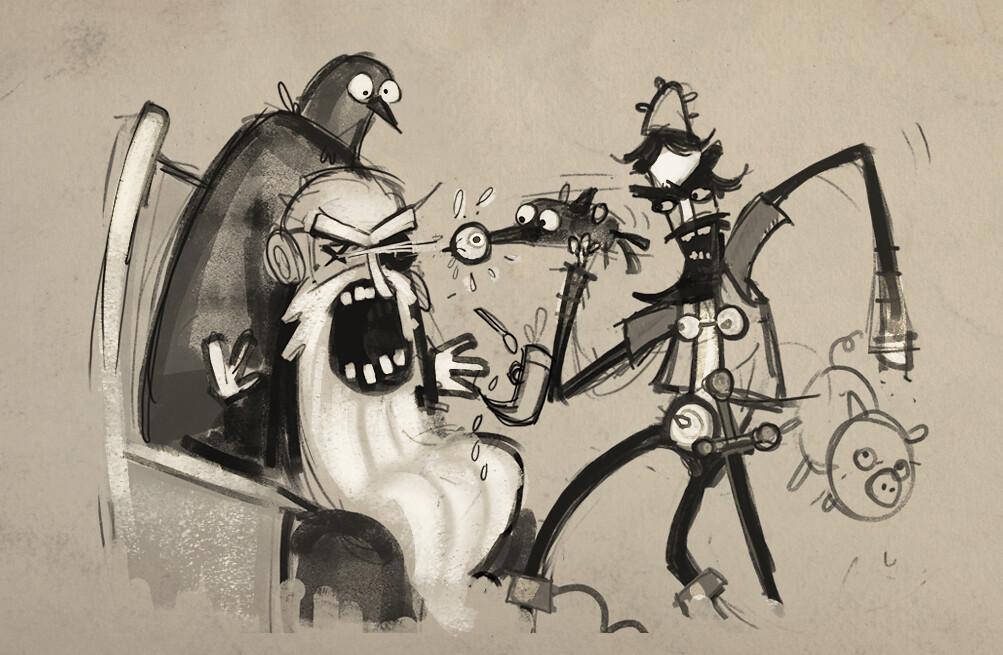 Zombie Vikings sketch1