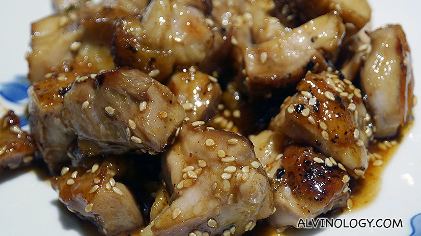 Teriyaki Chicken (S$22++ for 150g portion)
