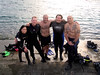 Dive the Blues Scuba Oct 2014, Okinawa, Rescue Class complete 3!!