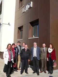 Anidi convenio huerto ecológico con el Ayuntamiento y La Caixa